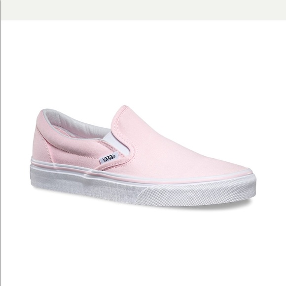 light pink van slip ons \u003e Clearance shop